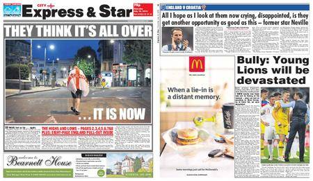 Express and Star City Edition – July 12, 2018