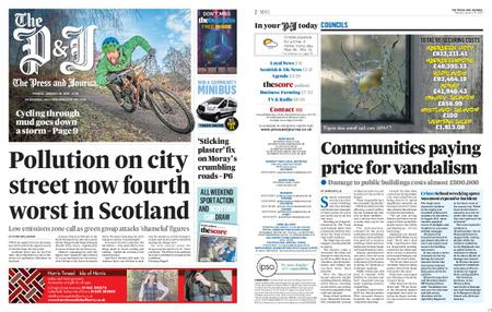 The Press and Journal Moray – January 20, 2020