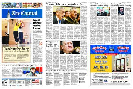The Capital – April 13, 2018