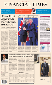 Financial Times Europe – 18 October 2018