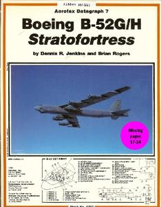 Boeing B-52G/H Stratofortress (Aerofax Datagraph 7)