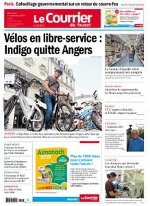 Le Courrier de l'Ouest Angers – 04 novembre 2020