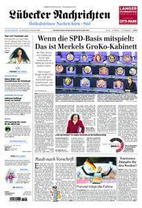 Lübecker Nachrichten Ostholstein Süd - 08. Februar 2018