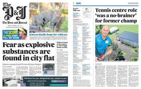 The Press and Journal Moray – September 13, 2021