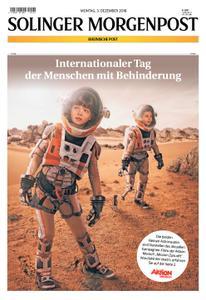 Solinger Morgenpost – 03. Dezember 2018