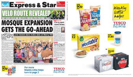 Express and Star Sandwell Edition – September 27, 2018