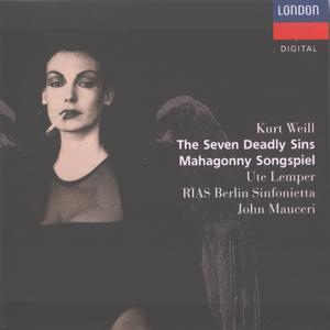 Kurt Weill - Seven Deadly Sins & Mahagonny Songspiel - Ute Lemper (1990) {Decca London 430 168-2}
