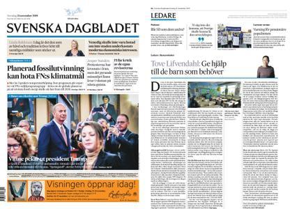 Svenska Dagbladet – 21 november 2019