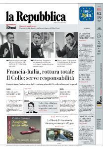la Repubblica - 8 Febbraio 2019