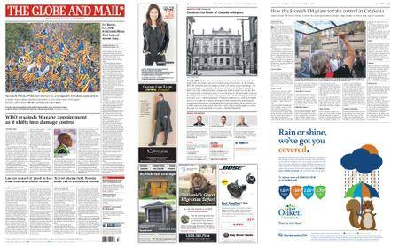 The Globe and Mail – October 23, 2017