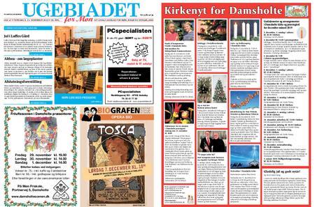 Ugebladet for Møn – 21. november 2019