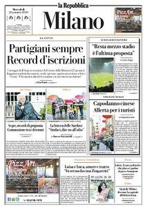 la Repubblica Milano - 22 Gennaio 2020