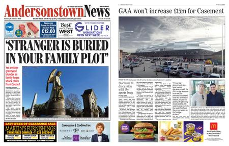 Andersonstown News – February 15, 2020