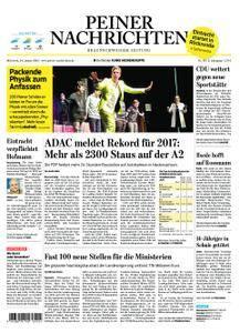 Peiner Nachrichten - 24. Januar 2018