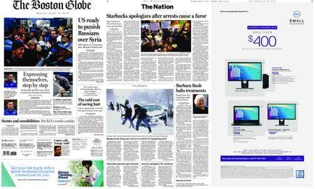 The Boston Globe – April 16, 2018