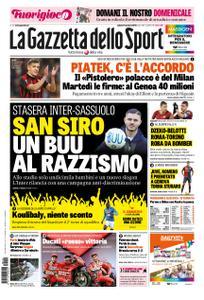 La Gazzetta dello Sport Sicilia – 19 gennaio 2019