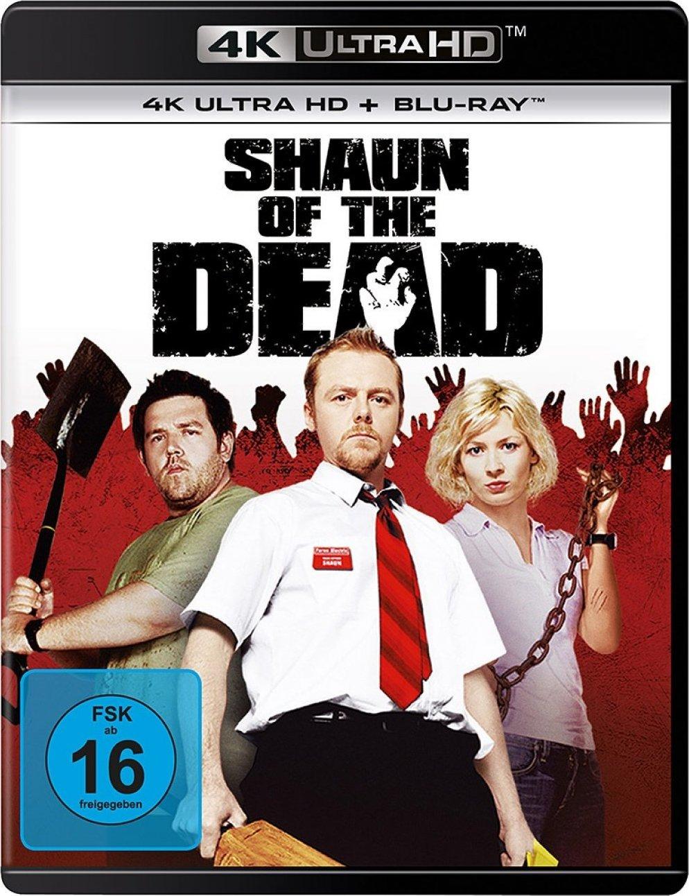Shaun of the Dead (2004) [4K, Ultra HD]