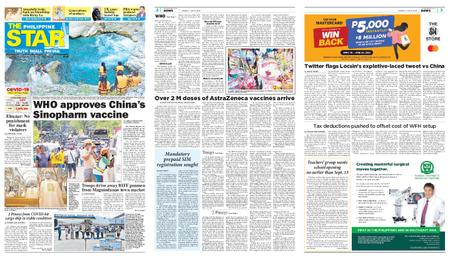 The Philippine Star – Mayo 09, 2021