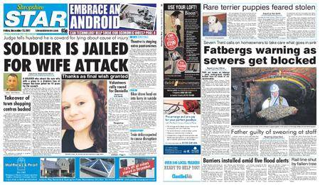 Shropshire Star Shrewsbury Edition – December 15, 2017