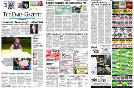 The Daily Gazette – October 01, 2018