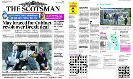 The Scotsman – November 14, 2018