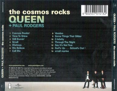 Queen + Paul Rodgers - The Cosmos Rocks (2008) {2012, Reissue}
