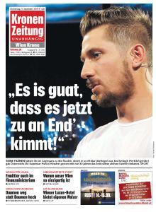 Kronen Zeitung - 5 September 2019