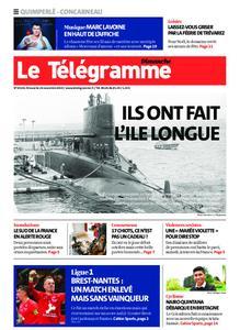 Le Télégramme Concarneau – 24 novembre 2019
