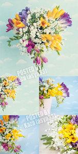 Romantic flower backgrounds