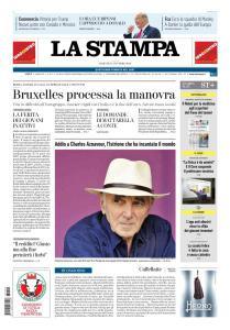 La Stampa Torino Provincia e Canavese - 2 Ottobre 2018