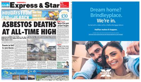 Express and Star Sandwell Edition – July 22, 2019