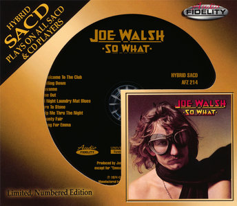 Joe Walsh - So What (1974) [Audio Fidelity 2015] PS3 ISO + Hi-Res FLAC
