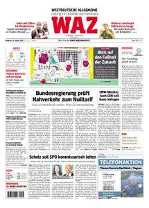 WAZ Westdeutsche Allgemeine Zeitung Oberhausen-Sterkrade - 14. Februar 2018