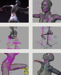 Digital-Tutors: Creative Development: Motion Flow Rigging in Maya with Farley Chery