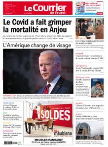 Le Courrier de l'Ouest Angers – 20 janvier 2021