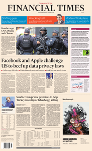 Financial Times Europe – 25 October 2018