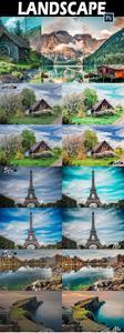 25 Landscape Photoshop Actions, ACR LUts