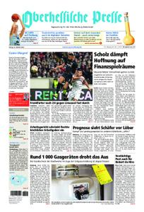 Oberhessische Presse Marburg/Ostkreis - 26. Oktober 2018