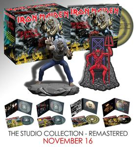 Iron Maiden - The Studio Collection, Part 1 (Box Set 4 CD, 1980-1983, Remastered 2015) (2018)