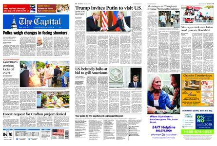 The Capital – July 20, 2018