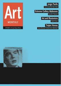 Art Monthly - September 2010   No 339