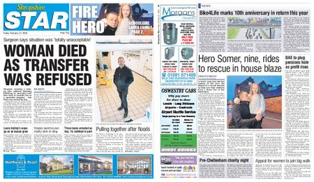 Shropshire Star Shrewsbury Edition – February 21, 2020
