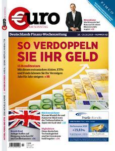 Euro am Sonntag – 19. Oktober 2019