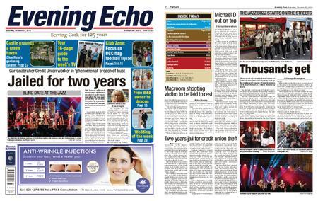 Evening Echo – October 27, 2018