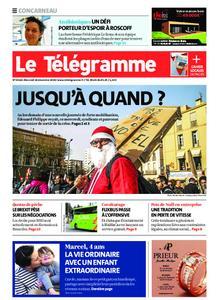 Le Télégramme Concarneau – 18 décembre 2019