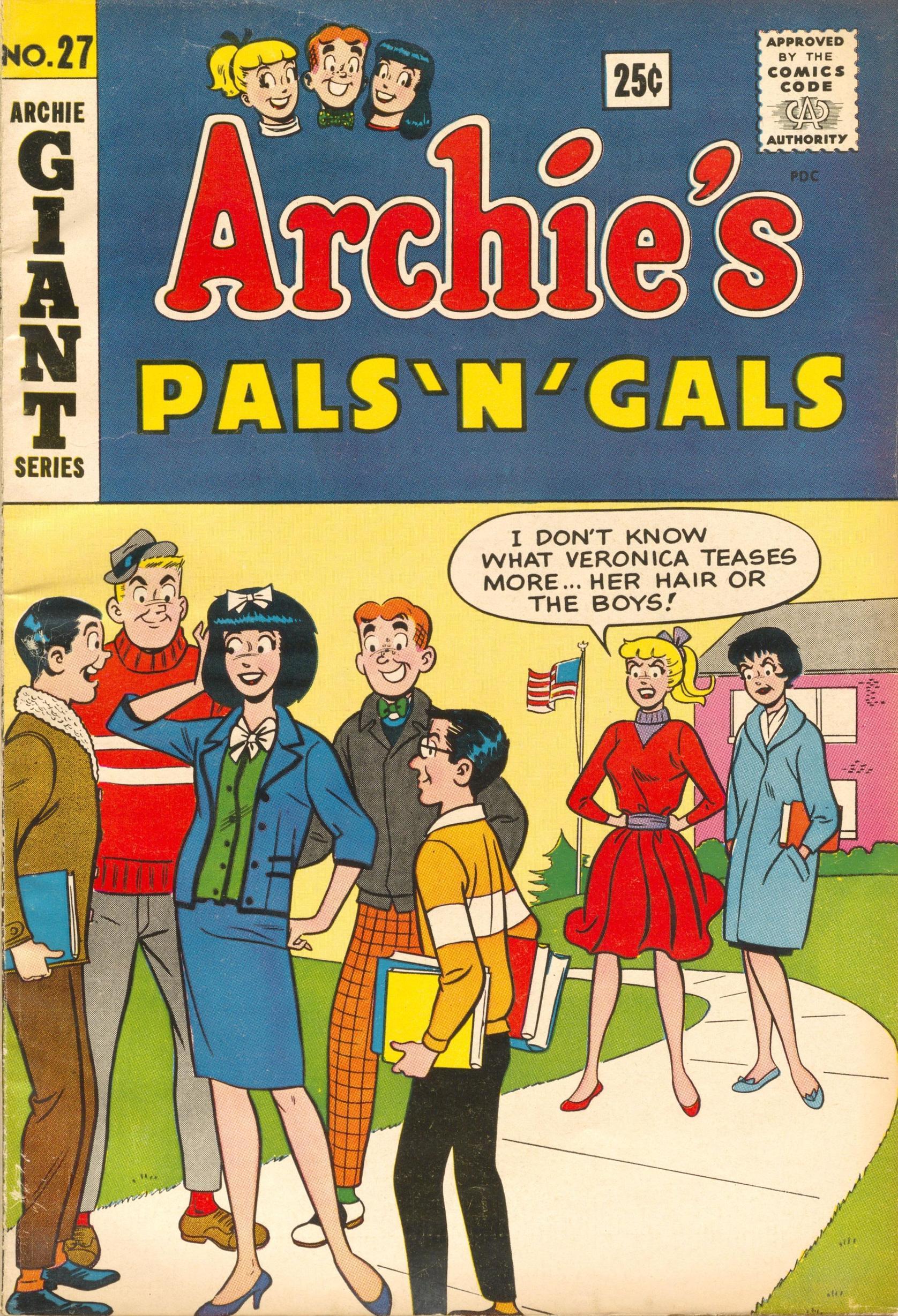 Archies Pals n Gals 027 1963