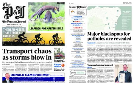 The Press and Journal Moray – September 14, 2020