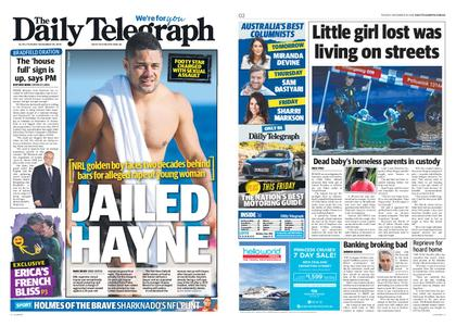 The Daily Telegraph (Sydney) – November 20, 2018