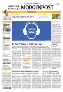 Solinger Morgenpost – 10. September 2019