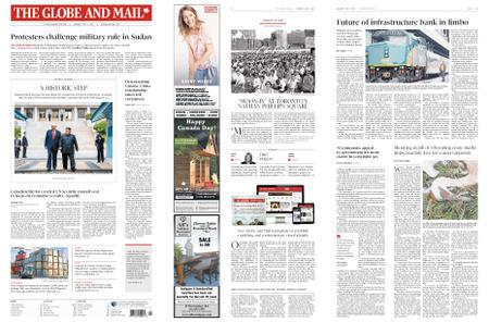 The Globe and Mail – July 01, 2019